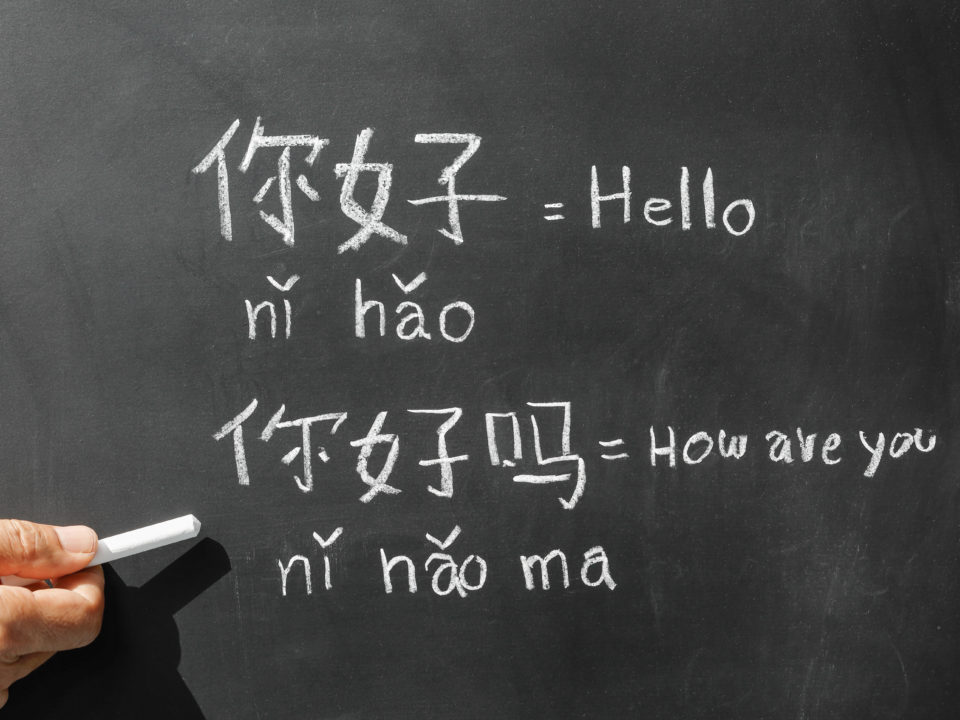 Languages spoken in China / Sprachen, welche in China gesprochen werden / 在中国使用的语言